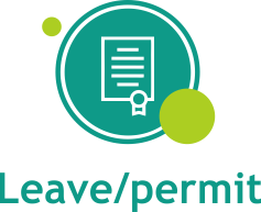Leave and permit
